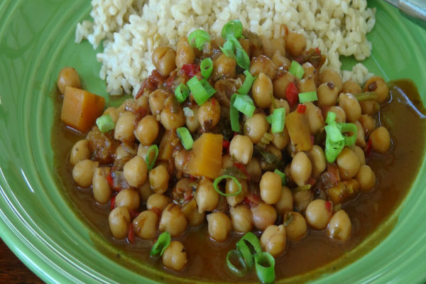 Vegetarian Garbanzo Stew