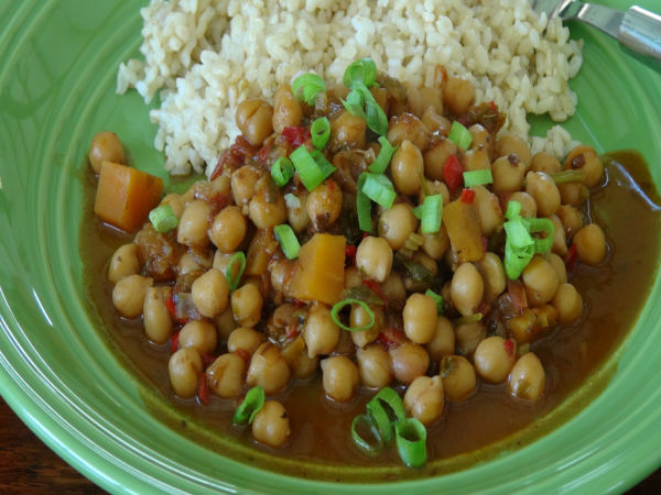 Vegetarian Garbanzo Stew