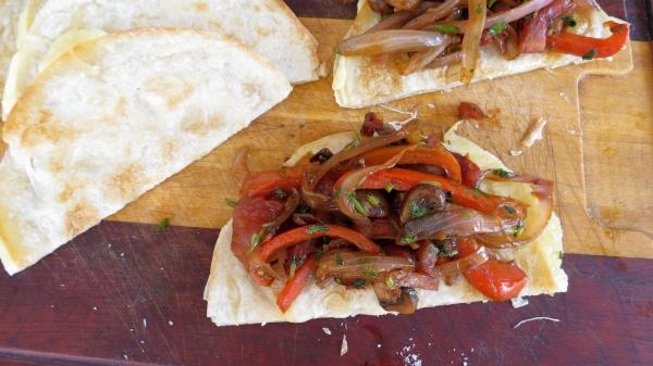 Vegetarian Quesadillas 4