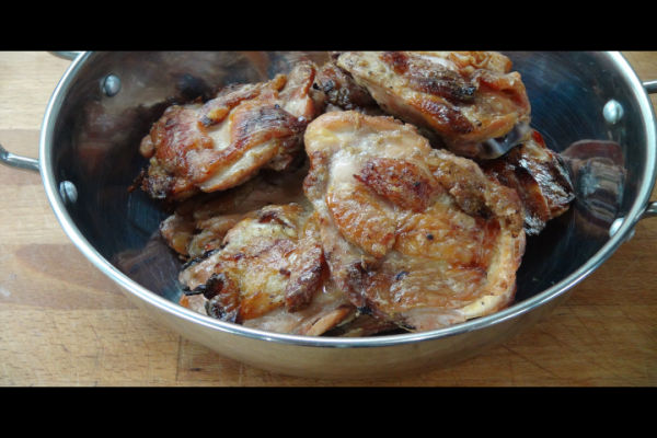 Yogurt Marinated Chicken Thighs