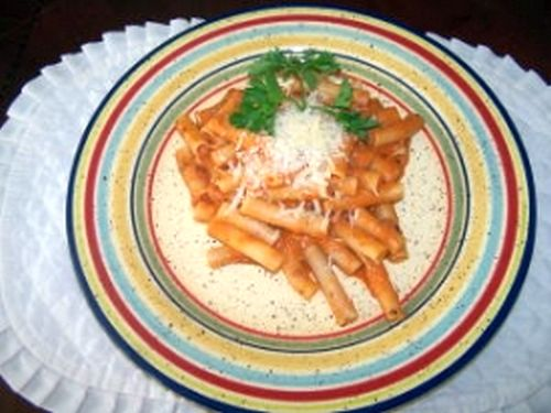 Ziti Spicy Sauce